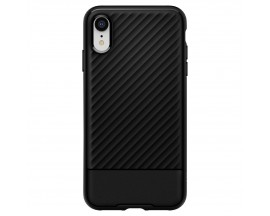 Husa Premium Originala Spigen Core Armor iPhone Xr Negru Silicon