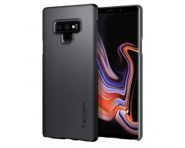 Husa Premium Originala Spigen Thin Fit Slim Samsung Note 9 Graphite Gray