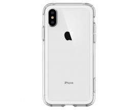 Husa Spate Premium Originala Spigen Crystal Hybrid iPhone Xs Max Transparenta ,anti-shock