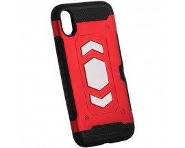 Husa Spate Anti-shock Forcell Magnet Case iPhone XS Max Rosu