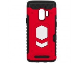 Husa Spate Anti-shock Forcell Magnet Case Samsung S9 Rosu