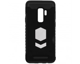 Husa Spate Anti-shock Forcell Magnet Case Samsung S9+ Plus Negru