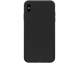 Husa Nillkin Synthetic Fiber iPhone Xs Max Neagra