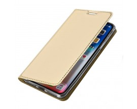 Husa Flip Cover Premium Duxducis Skinpro iPhone Xr Gold