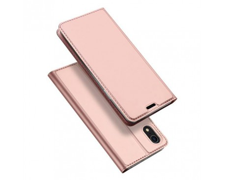 Husa Flip Cover Premium Duxducis Skinpro iPhone Xr Rose Gold