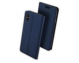 Husa Flip Cover Premium Duxducis Skinpro iPhone Xs Max Albastru
