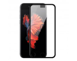 Folie Premium Sticla Securizata Hoco A11 iPhone 7 Plus ,iPhone 8 Plus Negru Transparenta