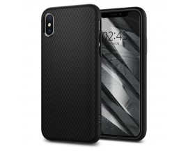Husa Originala Spigen Liquid Air iPhone X/XS Matte Black