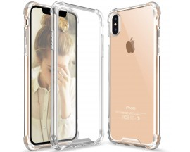 Husa Anti-Shock TPU silicon Crystal Clear iPhone X, Xs transparenta
