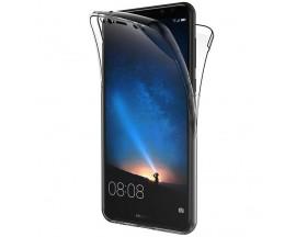 Husa 360 Grade Silicon Huawei Mate 20 Lite Transparenta