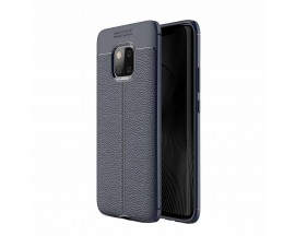 Husa Auto Focus Silicon Soft Upzz Huawei Mate 20 Pro Silicon Blue Navy