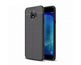 Husa Auto Focus Silicon Soft Mixon Samsung J4+ Plus 2018 Silicon Negru