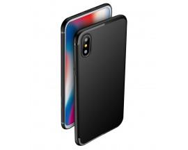Husa Spate Upzz Ultra Slim Pro New iPhone Xs Max Negru
