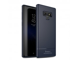 Husa Spate Ipaky Slim Carbon Samsung Note 9 Blue Navy