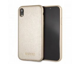 Husa Spate Guess Iridescent iPhone XR Gold