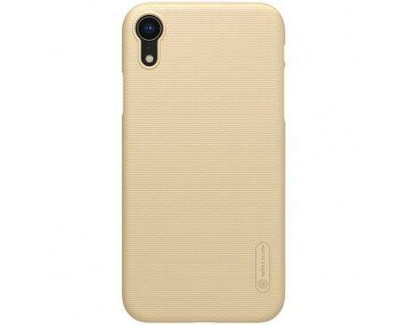 Husa Slim Nillkin Frosted Cu Stand Birou iPhone Xr Gold