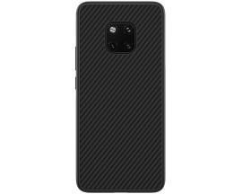 Husa Spate Upzz Carbon Fiber Huawei Mate 20 Pro Neagra