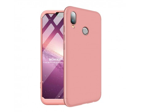 Husa 360 Grade Mixon Protection Huawei P20 Lite Rose-gold