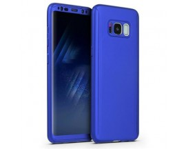 Husa 360 Grade Upzz Protection Samsung Galaxy S8+ Plus Albastru