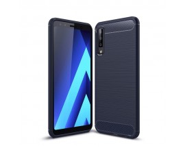 Husa Spate Forcell Carbon Pro Samsung A7 2018 Blue