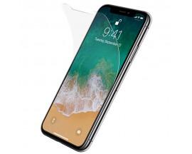 Folie Plastic Ultra Subtire Fata si Spate iPhone XS Max Transparenta