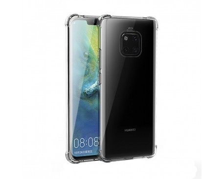 Husa Premium Roar Anti-shock Tpu Silicon Crystal Clear Huawei Mate 20 Pro Transparenta
