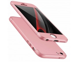 Husa 360 Grade Mixon Protection iPhone 5 5S 5SE Rose Gold