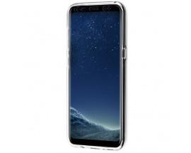 Husa 360 Grade Full Cover Silicon Samsung S10 Transparenta