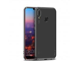 Husa Ultra Slim Premium Ipaky Effort Huawei Y6 2018 Cu Folie Sticla Marca Ipaky 9h Transparenta