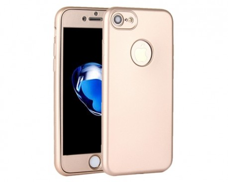 Husa Protectie Silicon 360 Grade Mixon iPhone 6 - 6s Gold