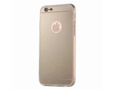 Husa Capac Spate iPhone 6 - 6s Forcell Mirror Gold