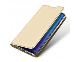 Husa Flip Cover Premium Duxducis Skinpro Huawei P30 Gold