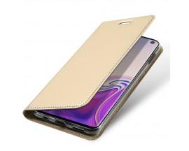 Husa Flip Cover Premium Duxducis Skinpro Samsung S10 Lite Gold