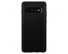 Husa Originala Spigen Liquid Air Samsung Galaxy S10 Matte Black