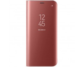 Husa De Protectie Samsung Clear View Standing Cover Pentru Galaxy S8 G950f Rose Gold Ef-zg950cpegww