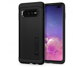 Husa Originala Spigen Slim Armor Samsung Galaxy S10 Plus Black