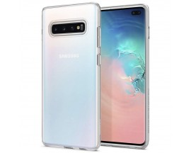Husa Spigen Liquid Crystal Samsung Galaxy S10 Plus Transparent ,silicon