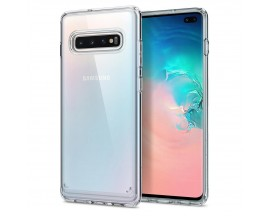 Husa Originala Spigen Ultra Hybrid Samsung Galaxy S10+ Plus Crystal Clear Transparenta