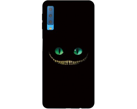 Husa Silicon Soft Upzz Print Samsung Galaxy A7 2018 Model Dragon