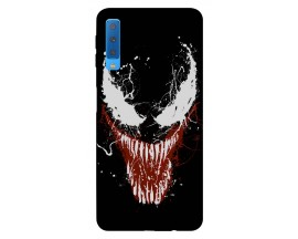 Husa Silicon Soft Upzz Print Samsung Galaxy A7 2018 Model Monster