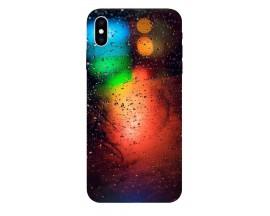 Husa Silicon Soft Upzz Print iPhone Xs Max Model Multicolor