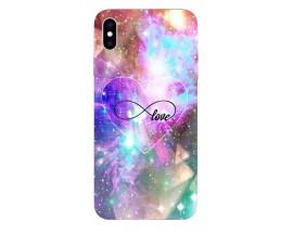 Husa Silicon Soft Upzz Print iPhone Xs Max Model Neon Love