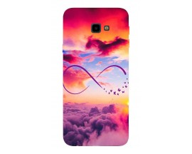 Husa Silicon Soft Upzz Print Samsung J4+ Plus 2018 Model Infinity