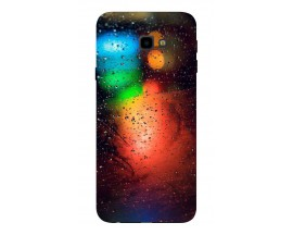 Husa Silicon Soft Upzz Print Samsung J4+ Plus 2018 Model Multicolor