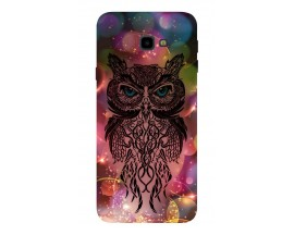 Husa Silicon Soft Upzz Print Samsung J4+ Plus 2018 Model Sparkle Owl