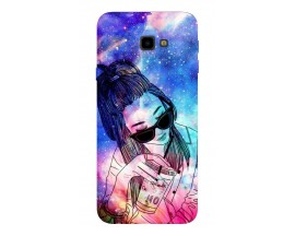 Husa Silicon Soft Upzz Print Samsung J4+ Plus 2018 Model Univers Girl
