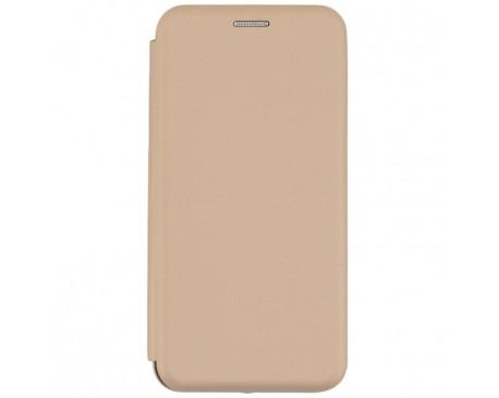 Husa Flip Carte Cu Magnet Lux Upzz Samsung Galaxy S10 Gold