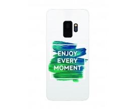 Husa Silicon Soft Upzz Print Samsung Galaxy S9 Model Enjoy