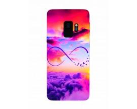 Husa Silicon Soft Upzz Print Samsung Galaxy S9 Model Infinity