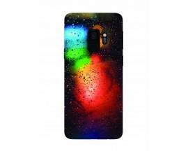 Husa Silicon Soft Upzz Print Samsung Galaxy S9 Model Multicolor